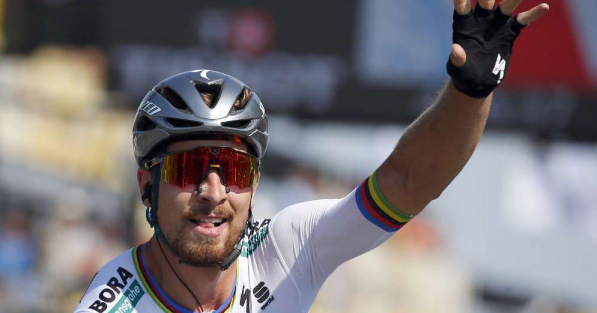 a73bed54ff038 Peter Sagan pôjde v žltom, vyhral druhú etapu Tour de France 2018 | VIDEO
