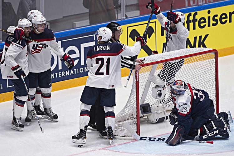 5d6b82fe17426 Hokejisti zdolali USA po predĺžení, no nepostúpili do štvrťfinále