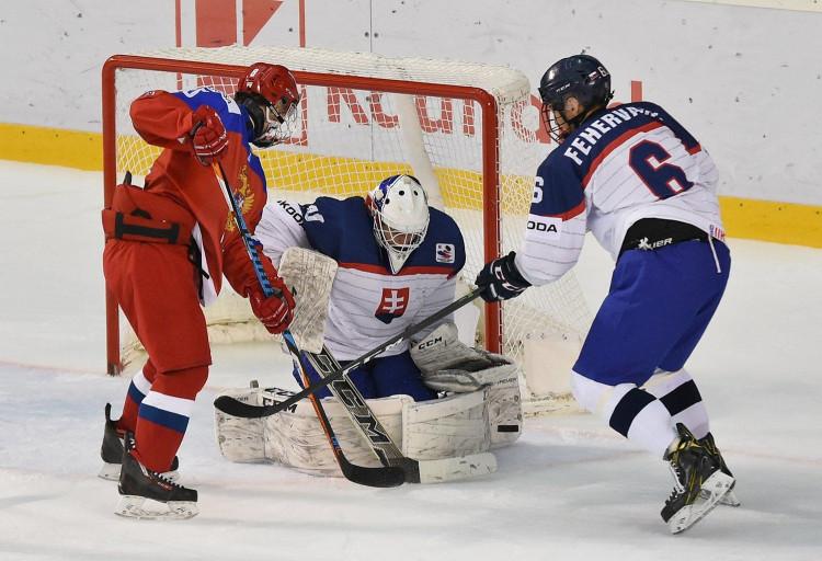 3ce7451e46668 Ruský gól v predĺžení ukončil slovenskú púť na MS U18