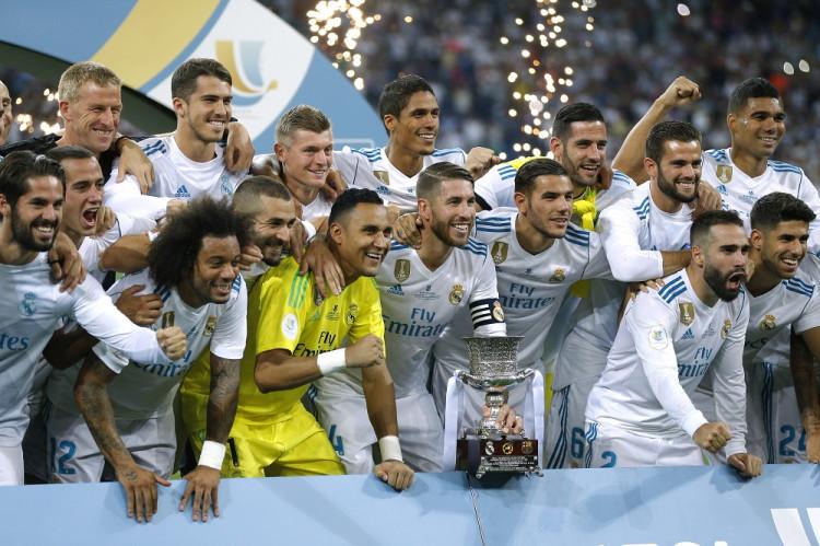 10300698a241f Real Madrid sa stal desiatykrát víťazom španielskeho Superpohára