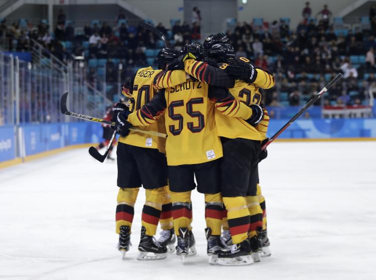 50376cab66841 Nemecko po boji zdolalo Veľkú Britániu |MS v hokeji 2019