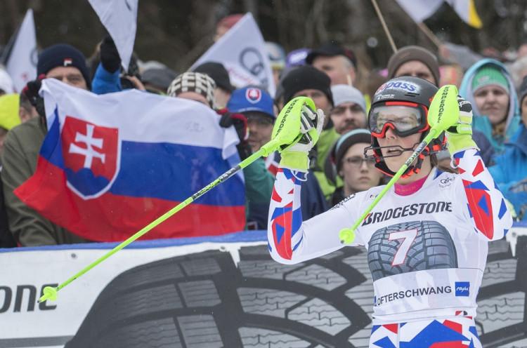 bbace9deb Petra Vlhová slalom Záhreb 2. kolo ONLINE lyžovanie dnes