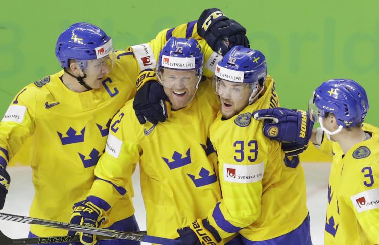 1fe0286355198 MS hokej 2018 Švédi zdolali Švajčiarsko a obhájili titul