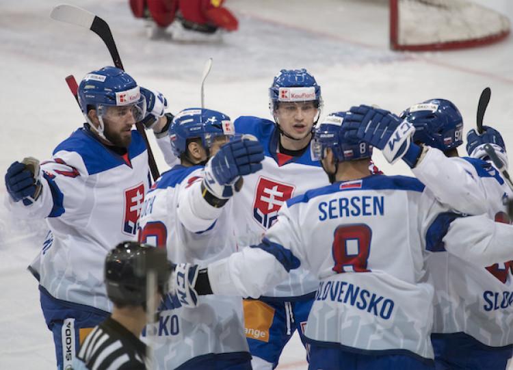 2776fa1354f1c Slovensko Nórsko hokej ONLINE príprava MS v hokeji 2019 dnes