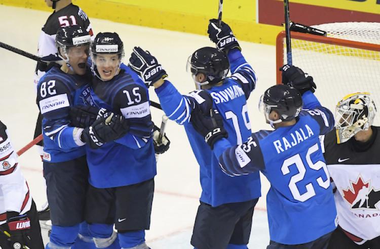 d4fa37ce0 MS v hokeji 2019 Fínsko na úvod našej skupiny zdolalo Kanadu