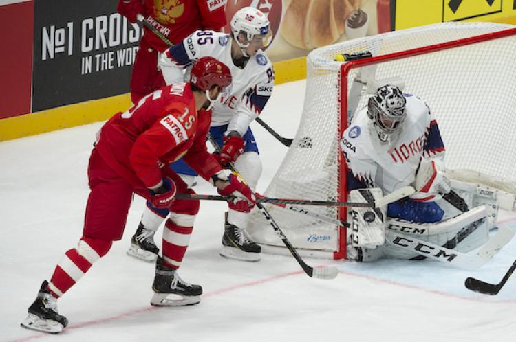 97dc234820957 MS v hokeji 2019 Rusko na úvod šampionátu porazilo Nórsko