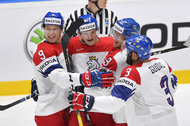 18bc6c57c60c4 Česko v Bratislave ľahko zdolalo Rakúsko |MS v hokeji 2019