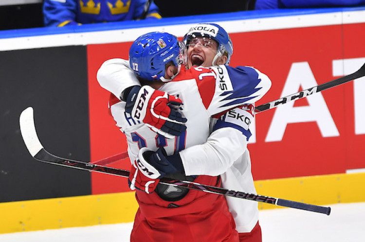 493850c53 Česko na úvod MS zdolalo Švédsko 5:2| MS v hokeji 2019 dnes