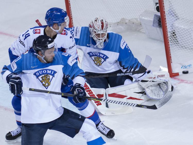 ba57762b3530e Fínsko zaváhalo s Nemeckom v poslednom zápase skupiny  MS v hokeji 2019