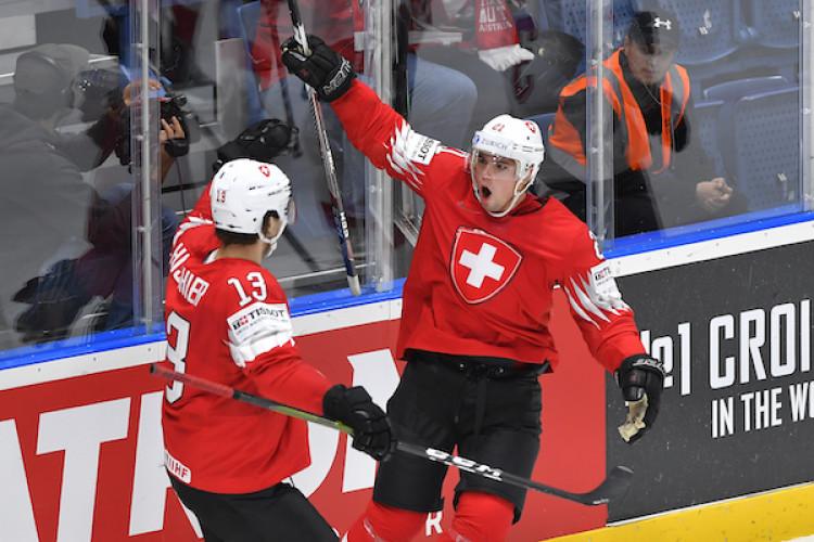 2c49c2c7e3893 Švajčiarsko zdolalo aj Nórsko a na MS je stále bez prehry |MS v hokeji 2019