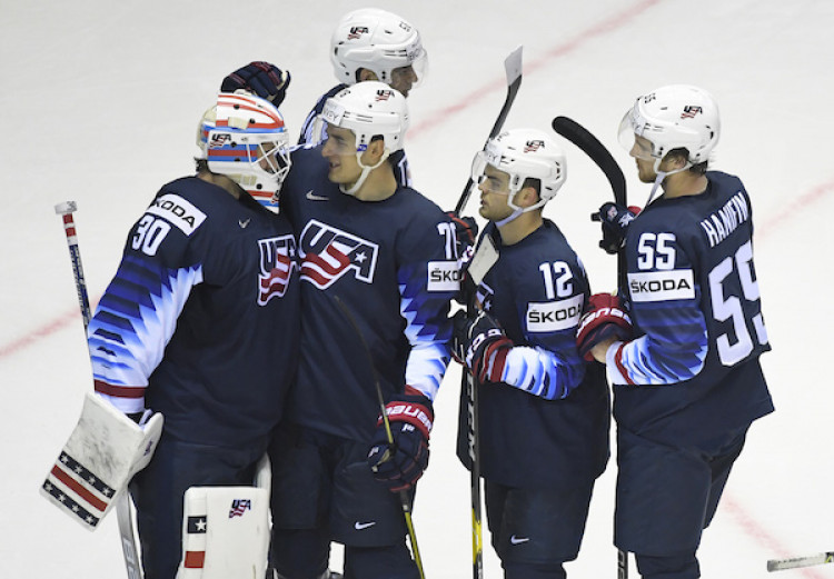 545cfeac8aec8 USA zdolali Nemecko, slovenská nádej na postup zhasla |MS v hokeji 2019