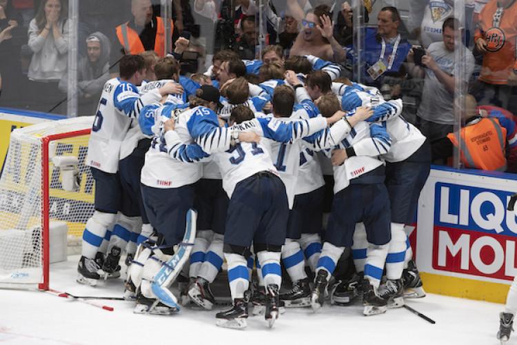 19e242c65 Fínsko je hokejovým majstrom sveta, vo finále zdolali Kanadu |Finále MS v hokeji  2019