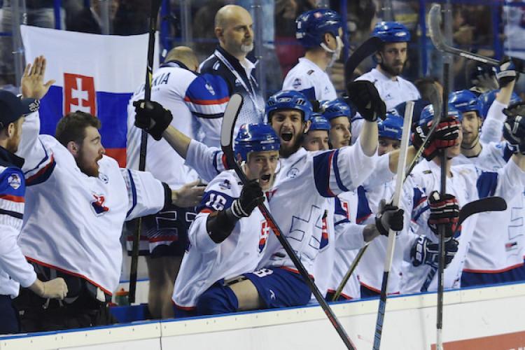 443684c10bfa4 Slovensko zdolalo Kanadu a zahrá si o hokejbalové zlato |MS v hokejbale 2019