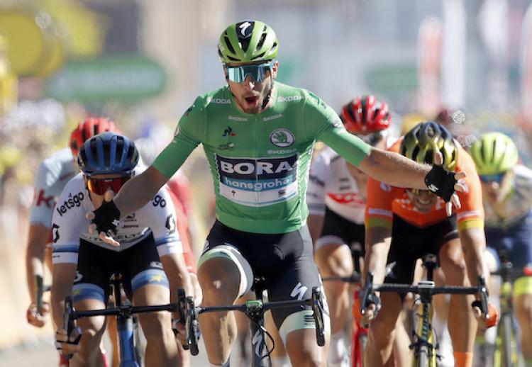 1ab0d8846556a VIDEO Peter Sagan dnes vyhral!! Slovák ovládol 5. etapu Tour de France 2019.