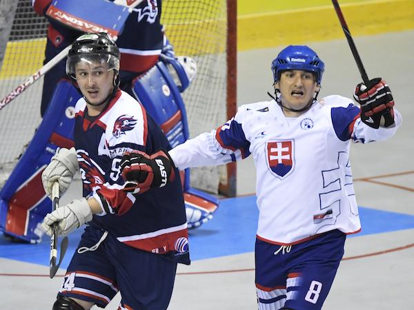 2514f5d708e96 Hokejbal Slovensko zdolalo Taliansko a zahrá si o medaily |MS v ...